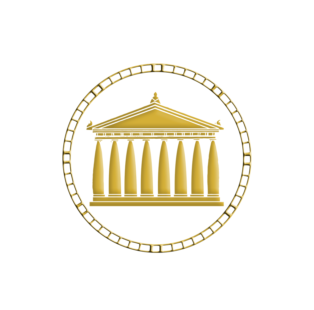 GOLD PARTHENON VECTOR