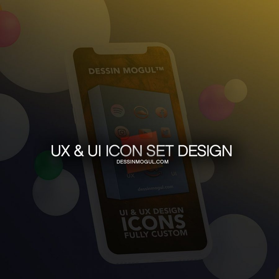 + UI UX ICONS COVER